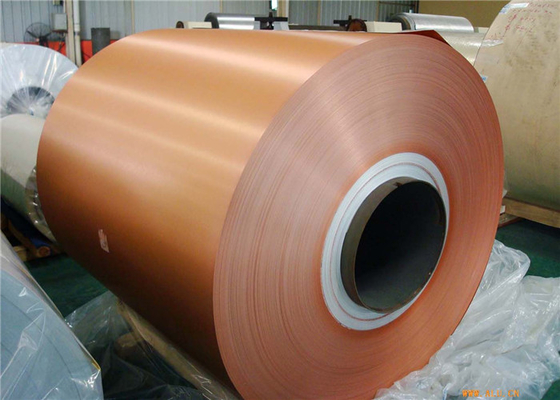 1100 3003 3105 Color Coated Aluminium Coil For Building Decoration
