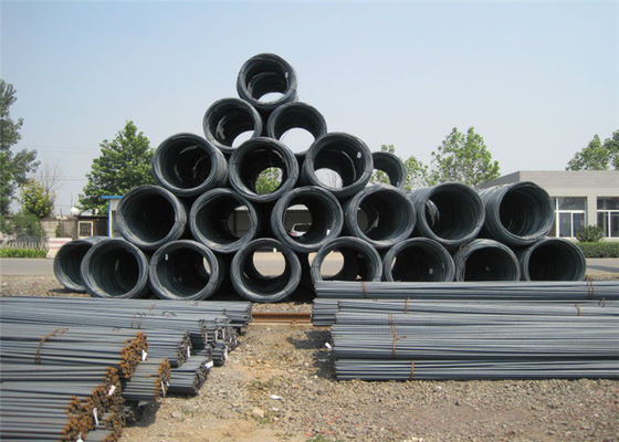 Round Gade 40 60 Deformed Reinforcing Steel Bars Standard Size 6mm 8mm 10mm 12mm