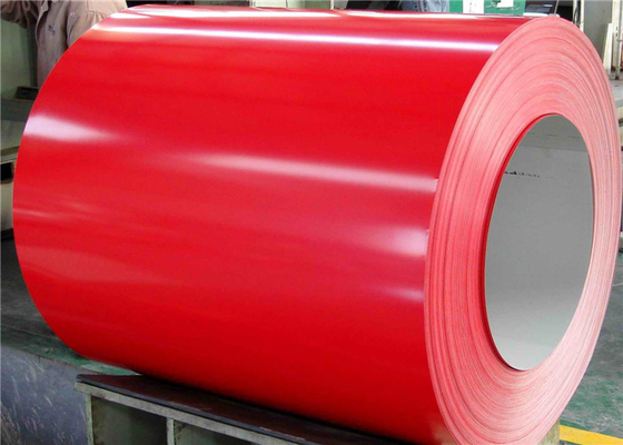 ASTM GB JIS Prepainted Galvanized Steel Coil For Building Materials