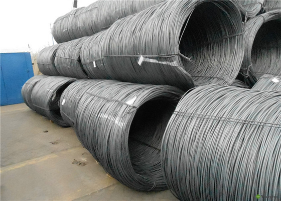 Customized Size Sae 1008 Wire Rod , Non Alloy High Carbon Wire Rod