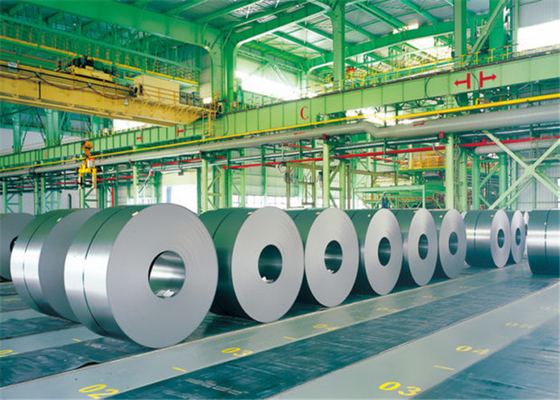 AISI ASTM Grain Oriented Silicon Steel / Cold Rolled Electrical Steel Coils